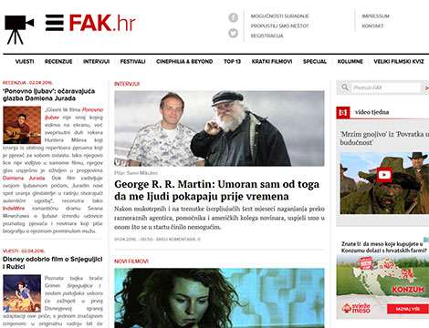 FAK.hr portal